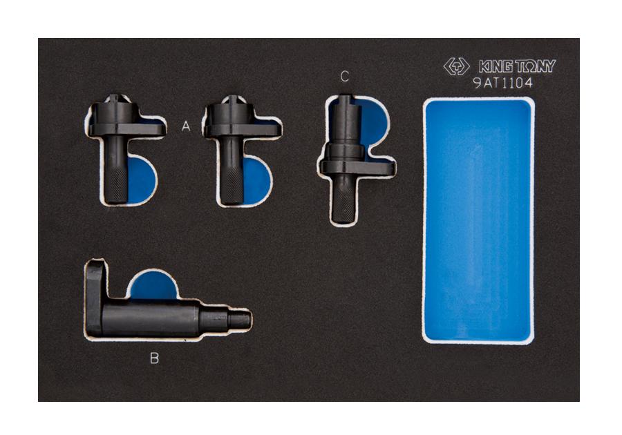雙凸輪正時固定工具-汽油(福斯集團) | KING TONY | 9AT1104E