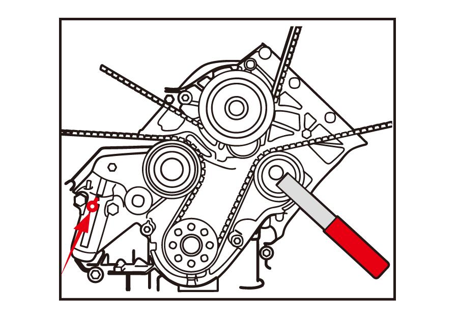 正時調整工具-汽油(福斯集團)  KING TONY  9AT1306E, 永安實業工具購物網