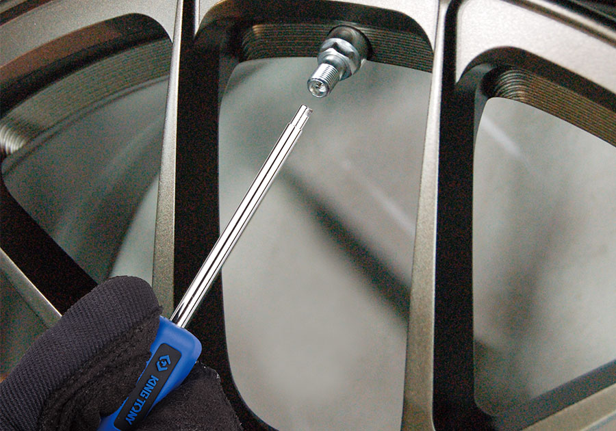 TPMS胎壓監測系統輔助工具組  KING TONY  9BK51, 永安實業工具購物網
