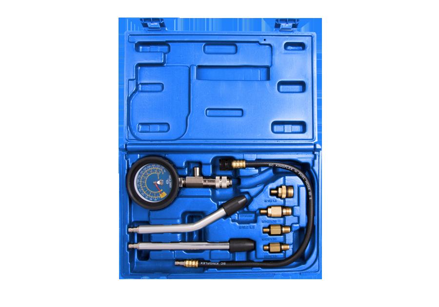 8件式 汽油汽缸壓力檢測組 | KING TONY | 9DP1301