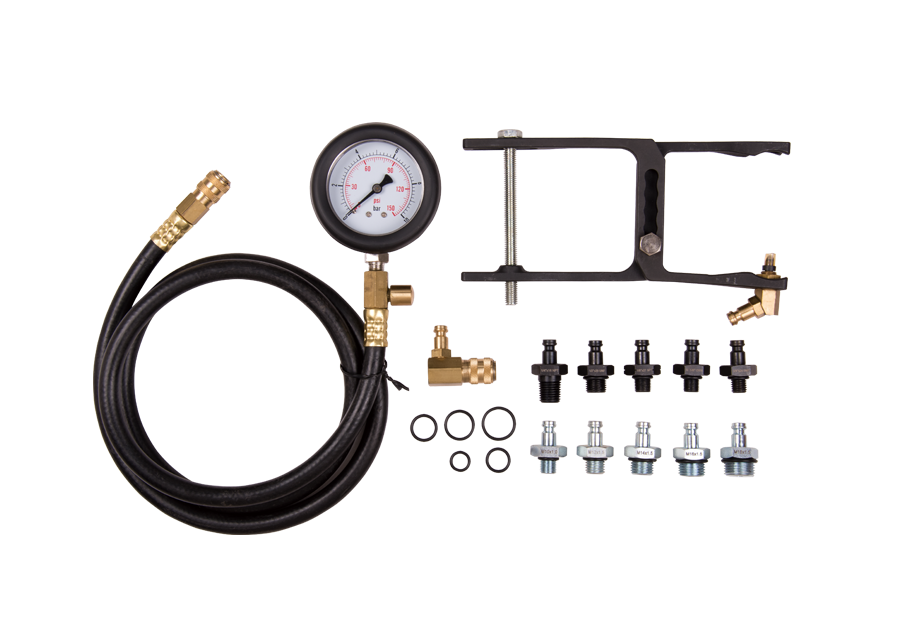 13件式 機油壓力測試組  KING TONY  9DP3201, 永安實業工具購物網