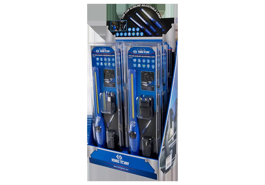 6件式 15W COB薄型檢查燈展示組  KING TONY  9TA26A-S, 永安實業工具購物網