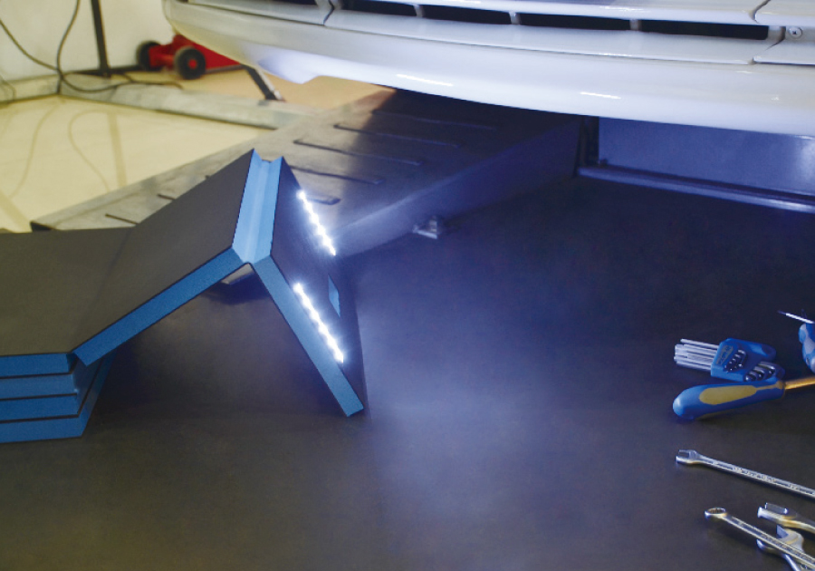 LED Folding Mat