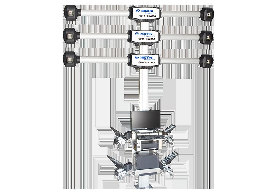 輪胎定位機(感應器自動升降)  KING TONY  9TYP8532AA, 永安實業工具購物網