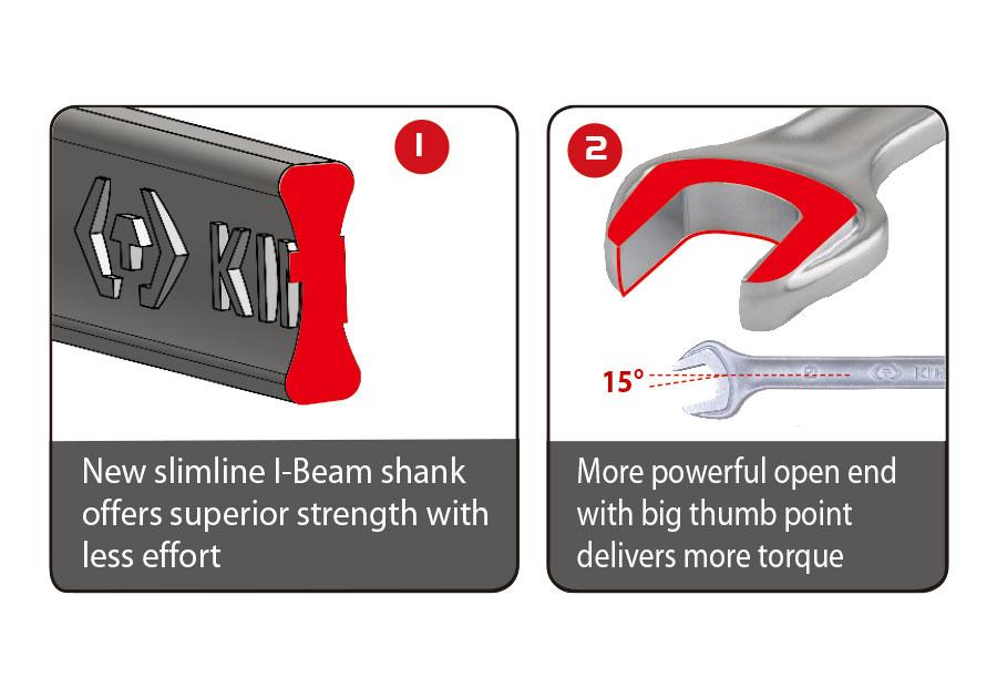 6件式 複合扳手架組套  KING TONY  P12D06MRS, 永安實業工具購物網