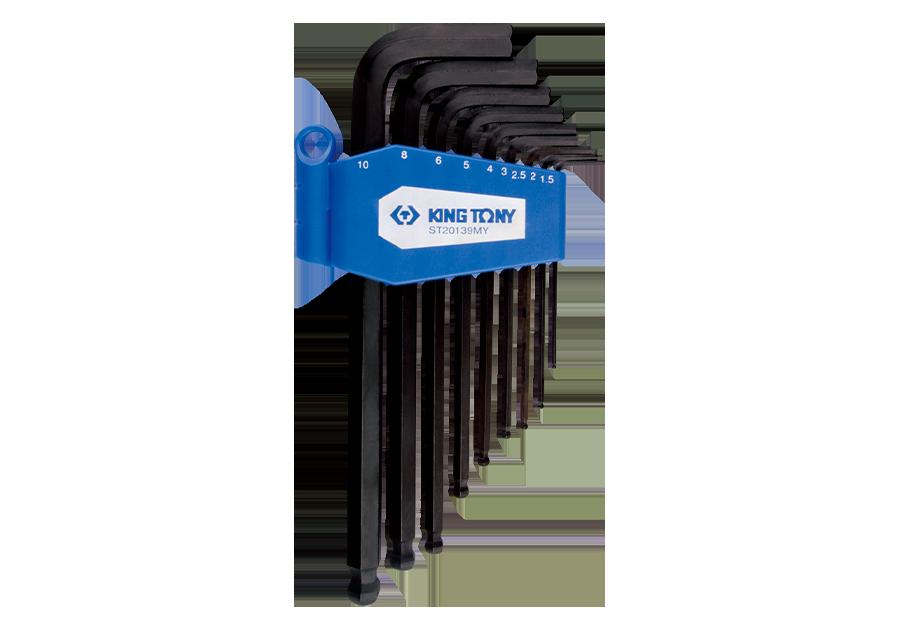 9件式 長型球頭六角扳手組  KING TONY  ST20139MY, 永安實業工具購物網