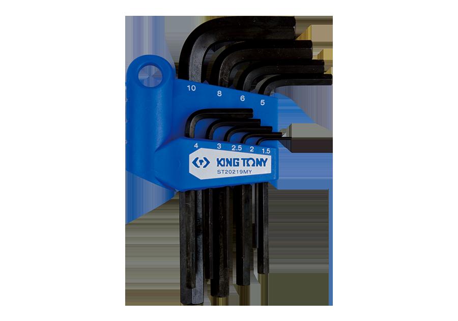 9件式 六角扳手組  KING TONY  ST20219MY, 永安實業工具購物網