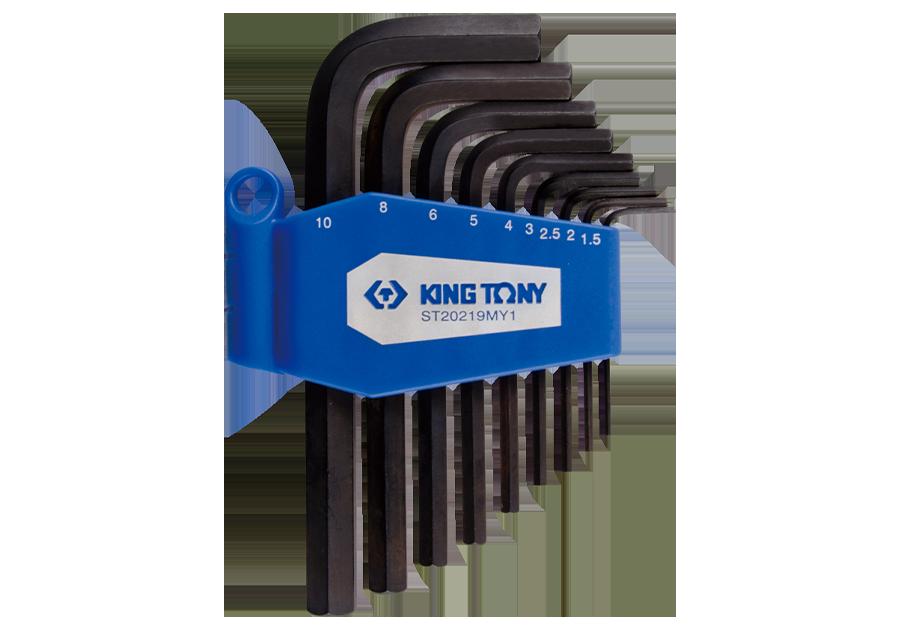 9件式 六角扳手組  KING TONY  ST20219MY1, 永安實業工具購物網