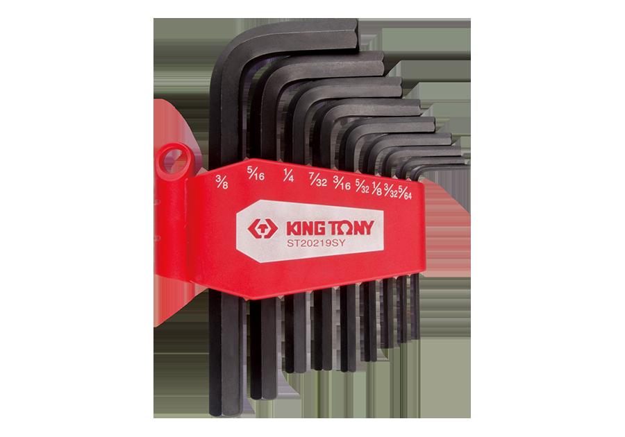 9件式 六角扳手組  KING TONY  ST20219SY, 永安實業工具購物網