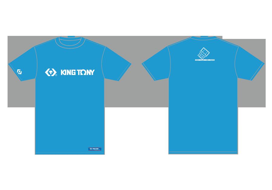 藍色T恤  KING TONY  ZS142B, 永安實業工具購物網