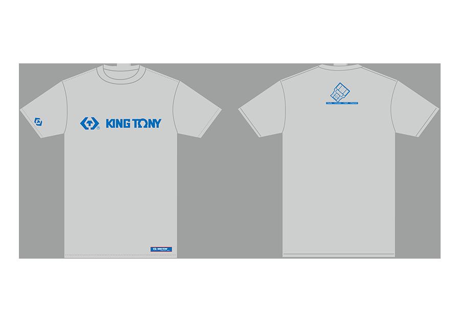 灰色T恤  KING TONY  ZS142G, 永安實業工具購物網