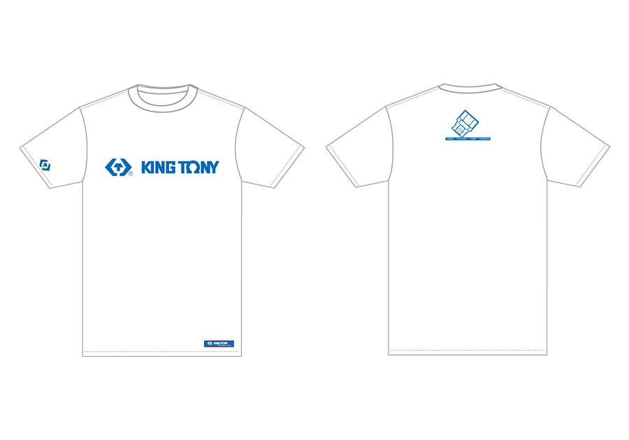 T-shirt(White)  KING TONY  ZS142W