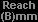 Reach A(mm)